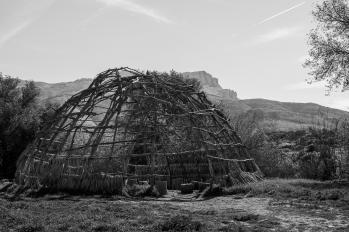 150202-7383 SantaMonica Mountains Rec area Chumash yurt